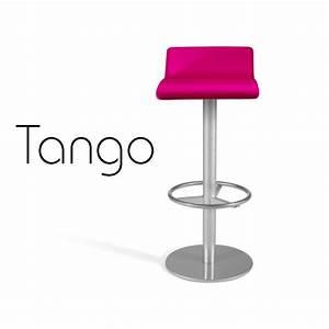 Tabouret Bar Bois : tabouret de bar tango assise garnie habillage aspect cuir ~ Teatrodelosmanantiales.com Idées de Décoration