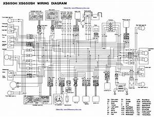 Xs650 Chopper Wiring Diagram Picture Schematic