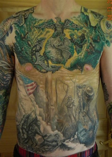 devil dog ink  insanely dope marine corps tattoos