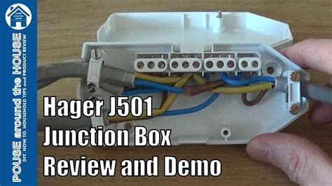 hager j501 downlighter junction box review and demo how to wire a downlight junction