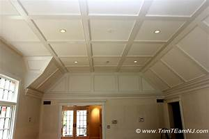 Coffered Ceilings and Beams - Traditional - Bedroom - New