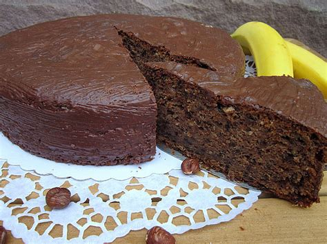 Bananenkuchen Mit Schokolade Von Trekneb