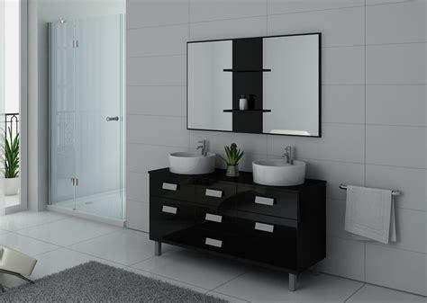 meuble de salle de bain 2 vasques sur pieds meuble 2 vasques noir sur pieds