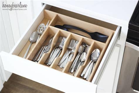 drawer organizer kitchen utensils organized kitchen drawers honeybear 6955
