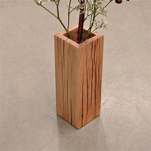 Rustic Reclaimed Wood Vase by Andrew's Reclaimed