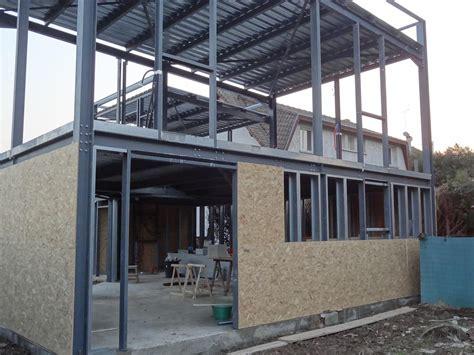 constructeur maison ossature metallique