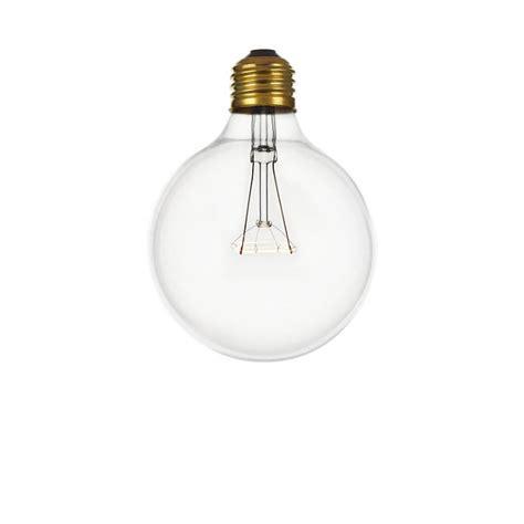 incandescent large globe frosted bulb 120v