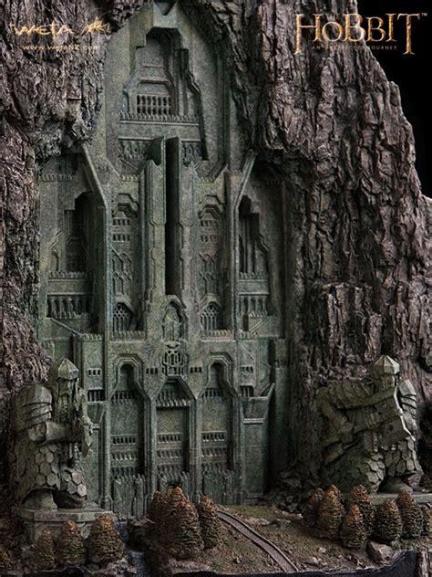 der hobbit  unexpected journey diorama front gate