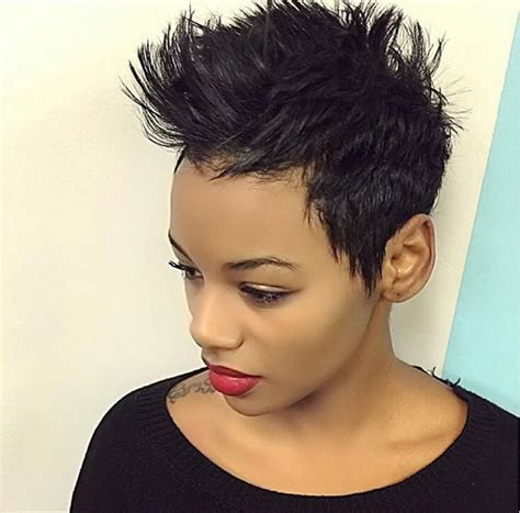 great short hairstyles  black women  xerxes