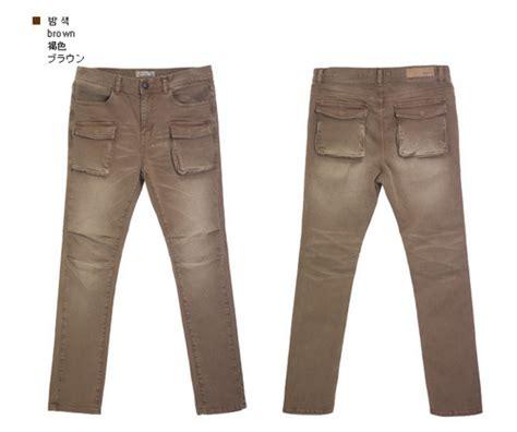 jogun shop slim fit combat pants kstylick latest