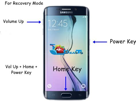how to reboot galaxy s6 s6 edge in recovery mode techbeasts