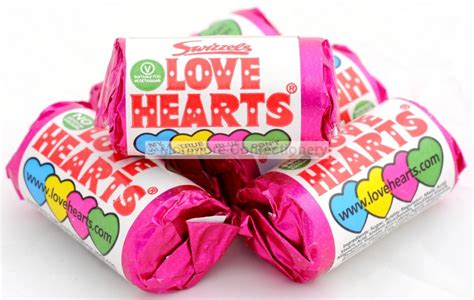 mini love hearts swizzels matlow kg monmore confectionery midlands