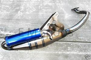 China Jog Scooter Moped Performance Exhaust Pipe 50cc