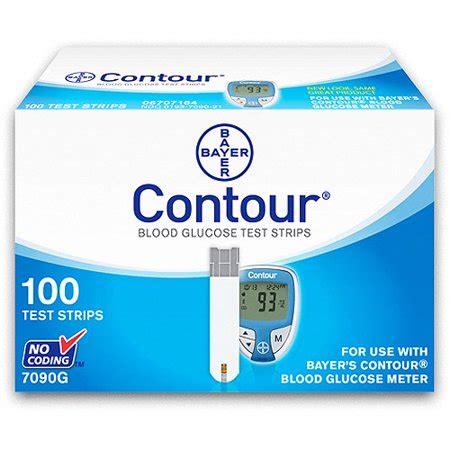 bayer contour blood glucose test strips ct walmartcom