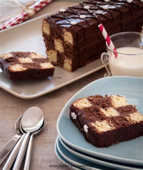 jujube en cuisine cake damier chocolat vanille jujube en cuisine