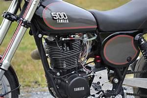 Racing Caf U00e8  Yamaha Xt 500 By Husky Restorations