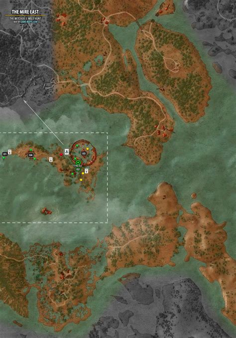 Fast Travel Using Boats Witcher 3 by The Mire East Map The Witcher 3 Walkthrough Maps