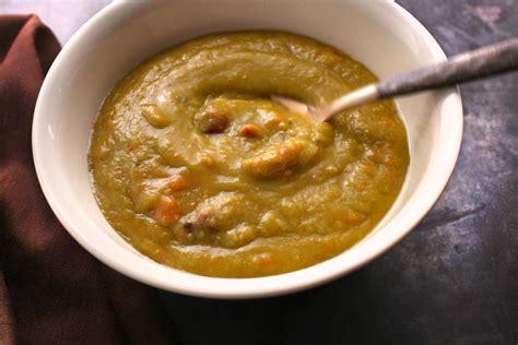 slow cooker split pea soup recipe chowcom