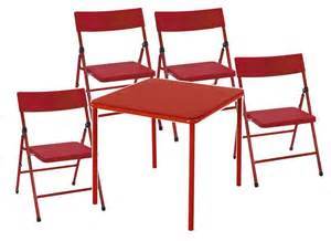 new cosco table and folding pinch free 4 chair set ebay