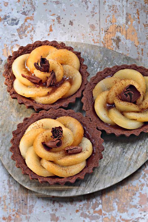 maxi cuisine recette tartelettes au chocolat et aux poires régal