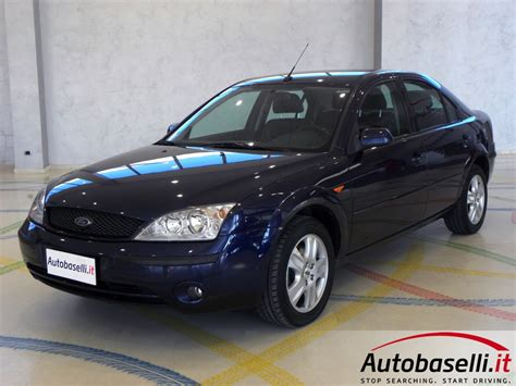 Ford Mondeo Interni by Ford Mondeo 2 0 Duratec He Ghia Interno In Pelle Sedili