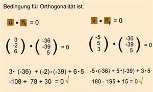 Lineare Funktionen N Berechnen : analytische geometrie und lineare algebra normalenvektor ~ Themetempest.com Abrechnung