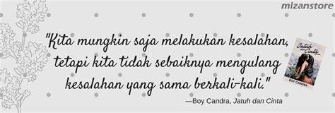 jatuh  cinta buku   boy candra mizanstore blog