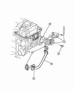 Chrysler Sebring Seal  Egr Tube  W  Plastic Manifold