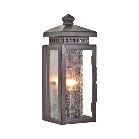 elstead matlock wrought iron 1 light bronze wall lantern