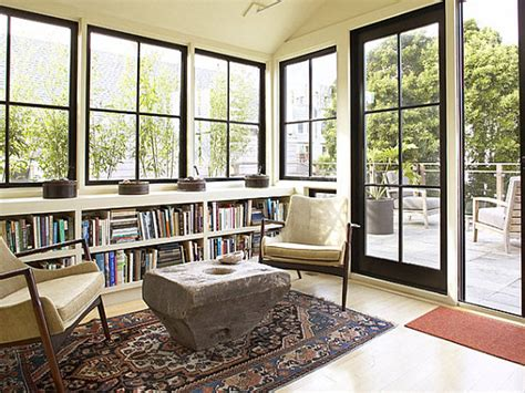 Sunroom Windows by Modern Sunroom Sun Room Windows With Black Sunroom Window