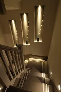 Moderne Schicke Treppen Beleuchtung