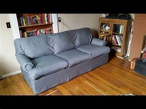 diy easy cheap no sew couch reupholster cover with bed With sheets to cover furniture