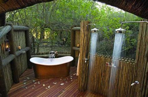 outside tub ideas 25 fabulous outdoor shower design ideas