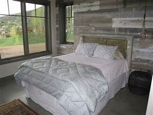 26 best grey barnwood accent walls images on pinterest With barnwood walls in bedroom