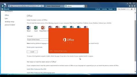 Office 365 Portal by Installing Office 2013 From Office 365 Portal
