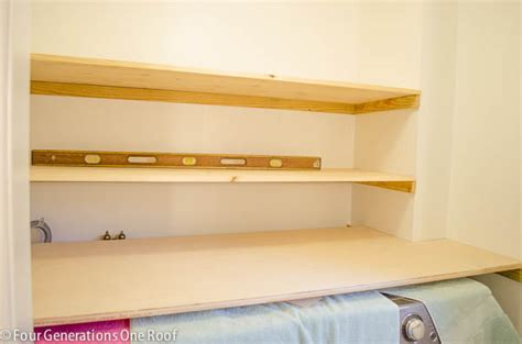 how to put up a shelf technique should i use cleats or brackets when putting