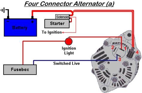 2 Wire Alternator Diagram by Help Wanted Alternator Wiring On A Denso Lightweight