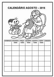 Calendário 2018 para completar e colorir IMPRIMIR GRÁTIS