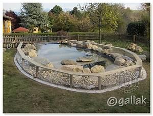 modele de bassin exterieur muret dcoratif dans bassin With charming decoration de bassin de jardin 14 gabion en u pour muret