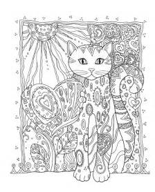 Printable Adult Coloring Pages Cats