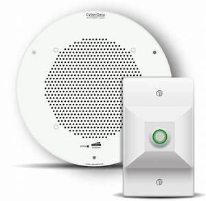 IP Talkback Speaker for remote room monitoring