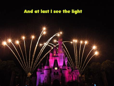 The Light by Disney Song Sung In Pictures I See The Light From