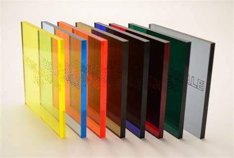 plastic sheet perspex transparent see through tinted