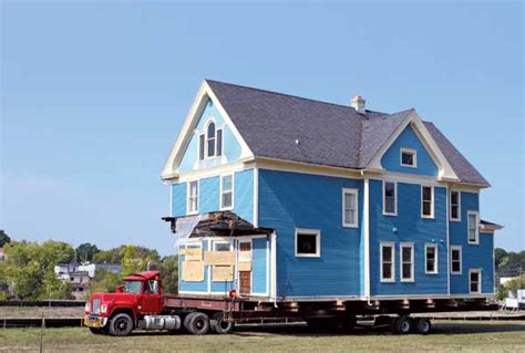 cost of moving a house moving a house more cost efficient than you might think