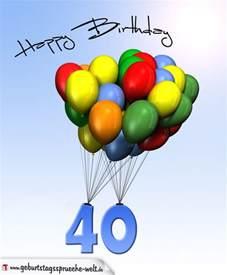 21 geburtstag sprüche geburtstagskarte mit luftballons zum 40 geburtstag geburtstagssprüche welt