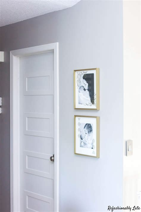 Door Makeover by Hollow Door Makeover Refashionably Late