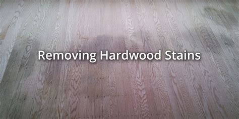 How To Remove Smells And Stains From Hardwood Floors