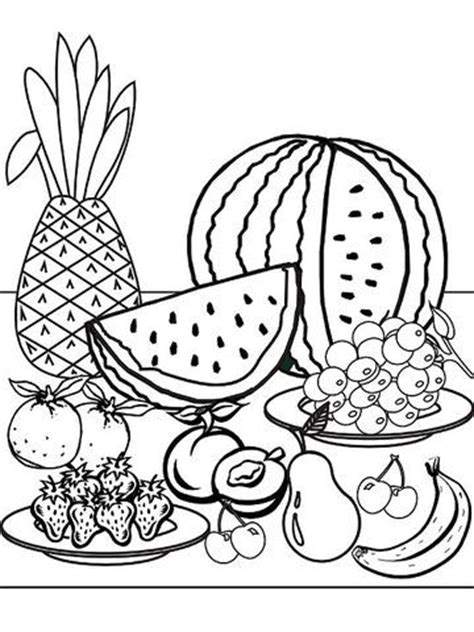 printable summer coloring pages summer coloring pages fruit coloring pages coloring pages
