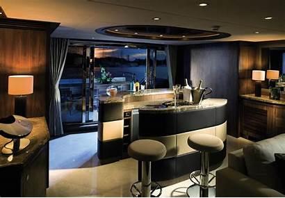 Yacht Interior Luxury Sunseeker Bar Predator Designing