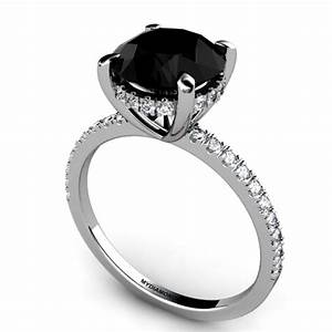 All about black diamond engagement rings black diamond ring for Wedding rings black diamonds